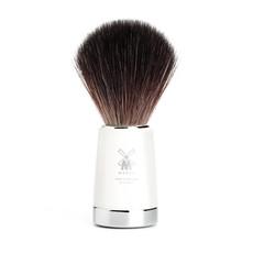 Shaving Brush Black Fibre® - White