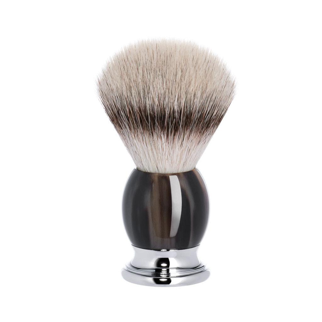 Shaving Brush Silvertip Fibre® - Genuine horn