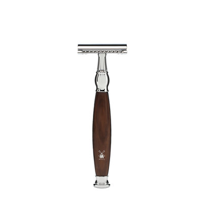 R47SR - Safety razor - Ironwood - Closed Comb