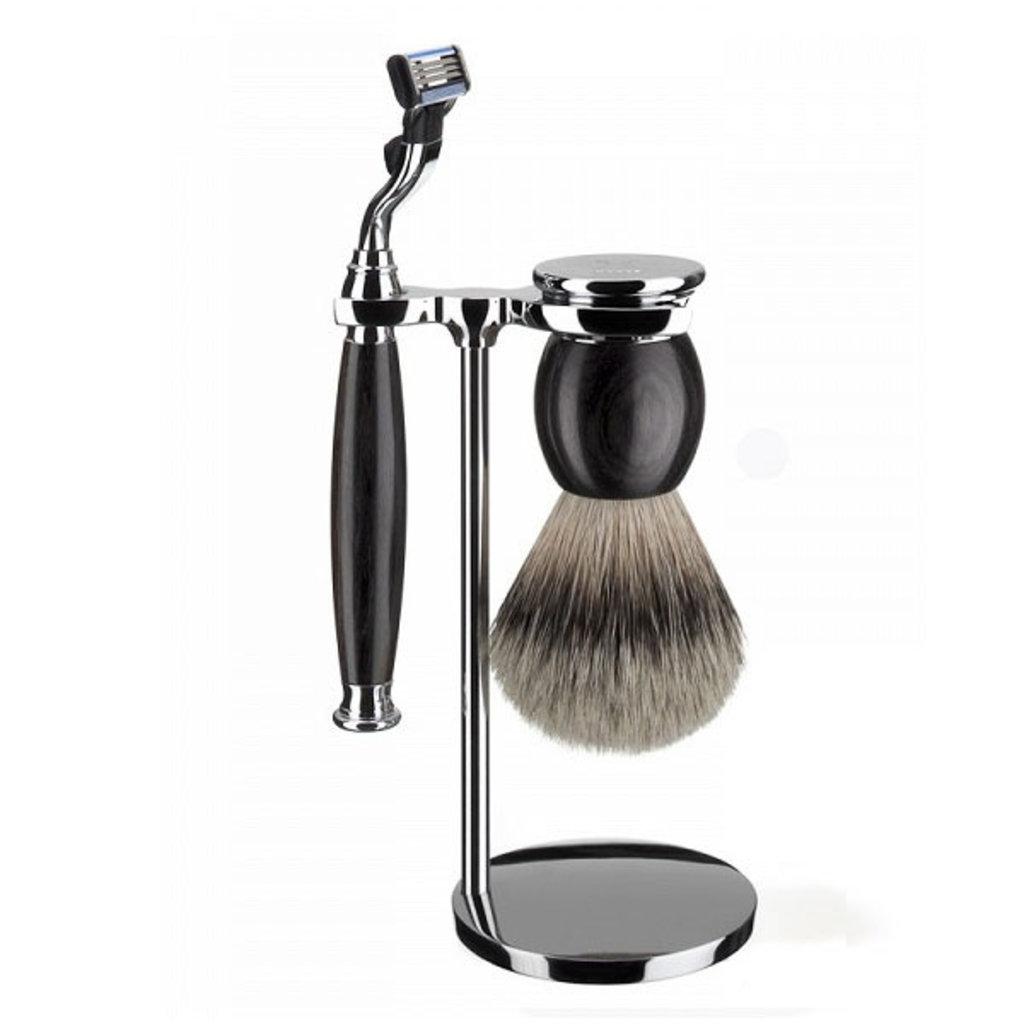 Shaving Set 3-part Sophist - African Blackwood Mach3®