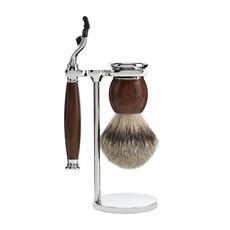 Shaving Set 3-part Sophist - Ironwood Mach3®