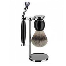 Shaving Set 3-part Sophist - Black Mach3®