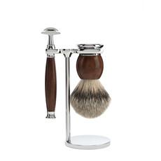 Shaving Set 3-part Sophist - Ironwood Saf.Razor