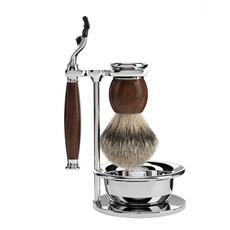 Shaving Set 4-part Sophist - Ironwood Mach3®