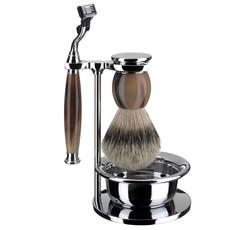 Shaving Set 4-part Sophist - Genuine horn Mach3®