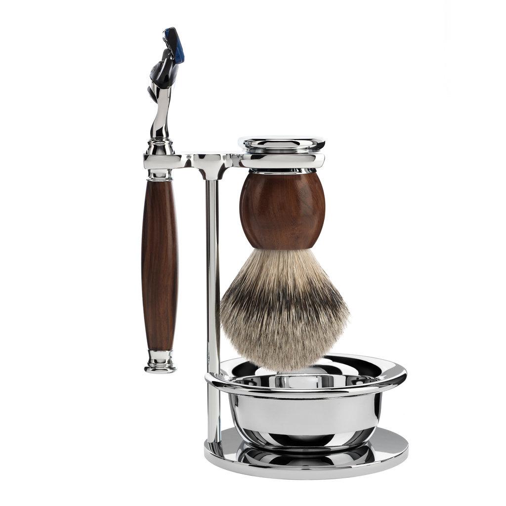 Shaving Set 4-part Sophist - Ironwood Fusion®