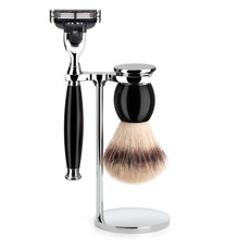 Shaving Set 3-part  Sophist - Black Mach3®