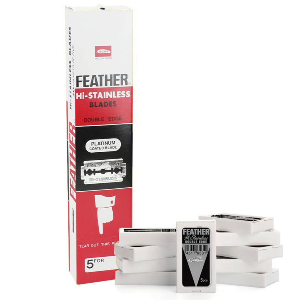 Verwisselbare mesjes DEB Feather (100 stuks)