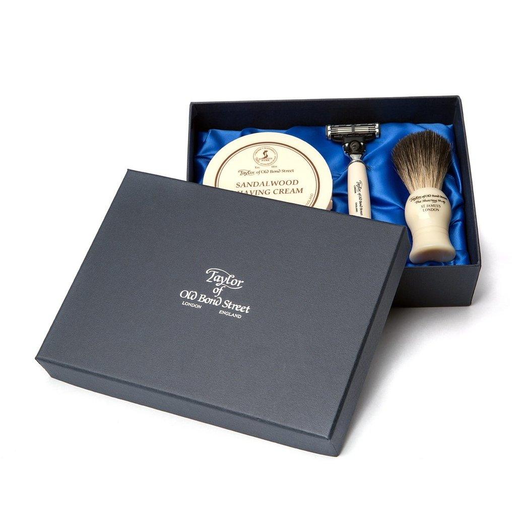 Giftbox Pure Badger & Shavingcream 150g Jermyn str.