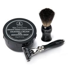 Pure Badger Shaving Brush, Razor Mach3 Victorian & Shavingcream