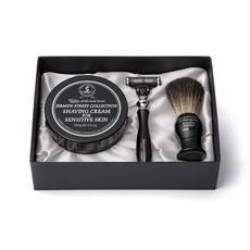 Pure Badger Scheerkwas, Scheermes & Shavingcream 150g Jermyn Street Collection