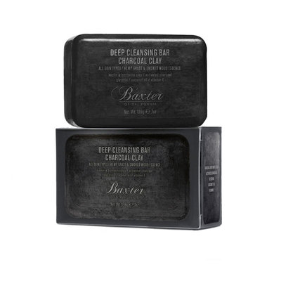 BOC-DPC - Deep Cleansing Bar Charcoal Clay 198g