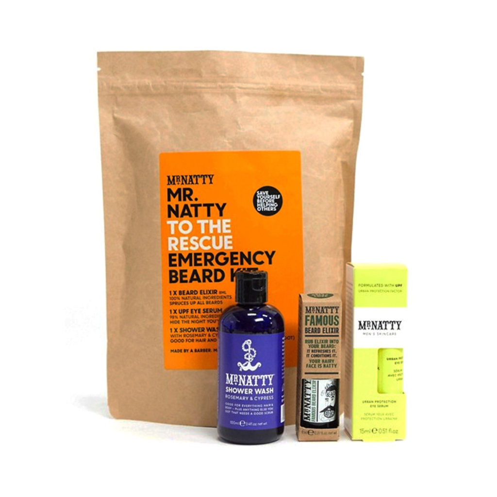 Emergency Beard Kit