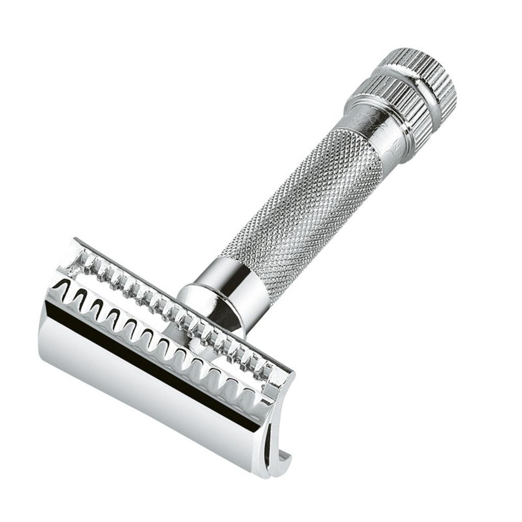 Safety Razor Merkur 37C - Schuine scheerkop 'Slant bar'