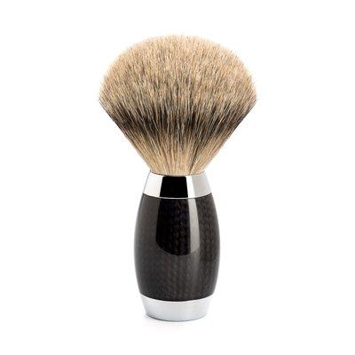 493ED1 - Shaving Brush Silvertip Carbon