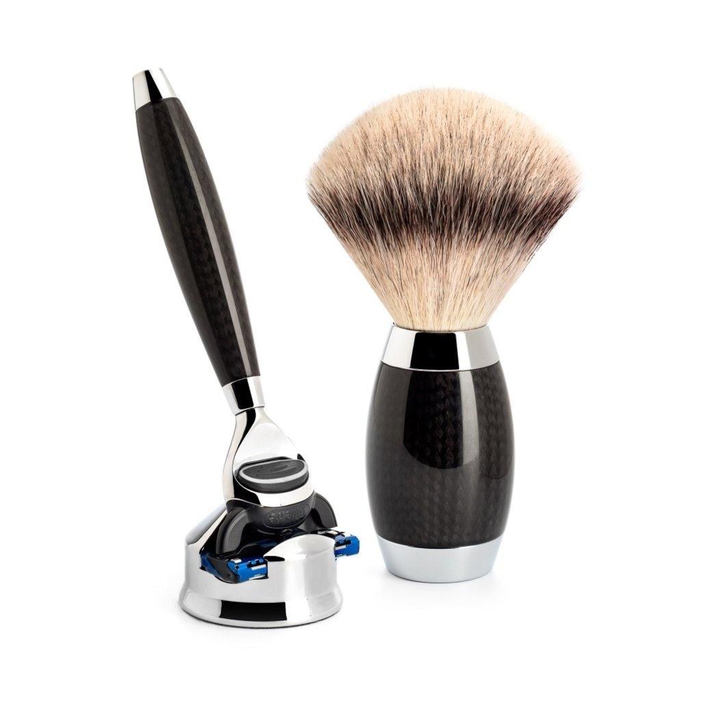 Shaving Set Carbon -Fusion & Fibre®