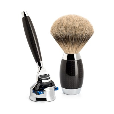 S493ED1 - Shaving Set Carbon -Fusion® & Dashaar