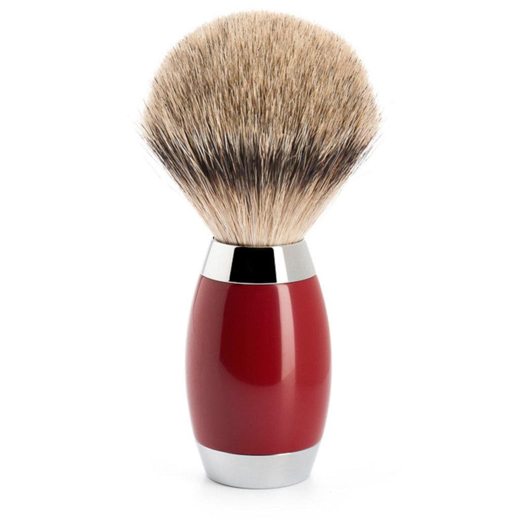 Shaving Brush Silvertip Urushi lacquer