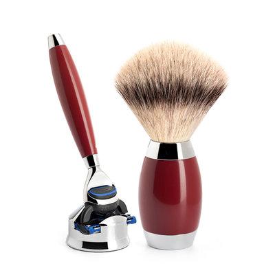 S433ED2 - Shaving Set Urushi lacquer -Fusion & Fibre®