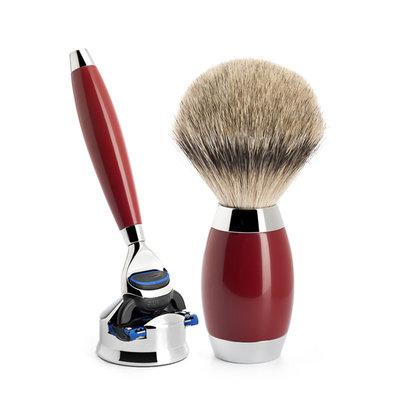S493ED2 - Shaving Set Urushi lacquer -Fusion® & Dashaar