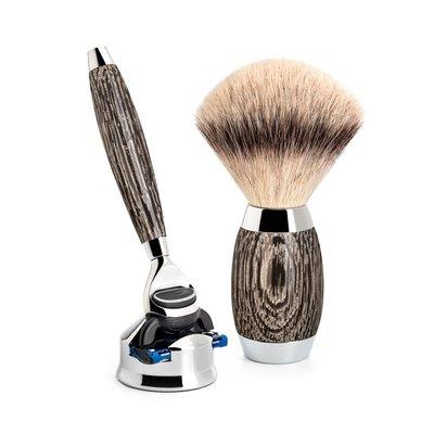 S433ED3 - Shaving Set Ancient oak -Fusion & Fibre®