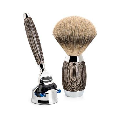 S493ED3 - Shaving Set Ancient oak -Fusion® & Dashaar