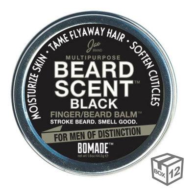 BOX 12x - Beard Scent Black® Bomade - Large - 48,5g