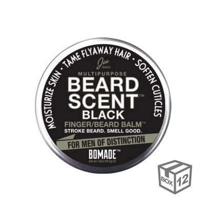 BOX 12x - Beard Scent Black® Bomade - Medium - 18g