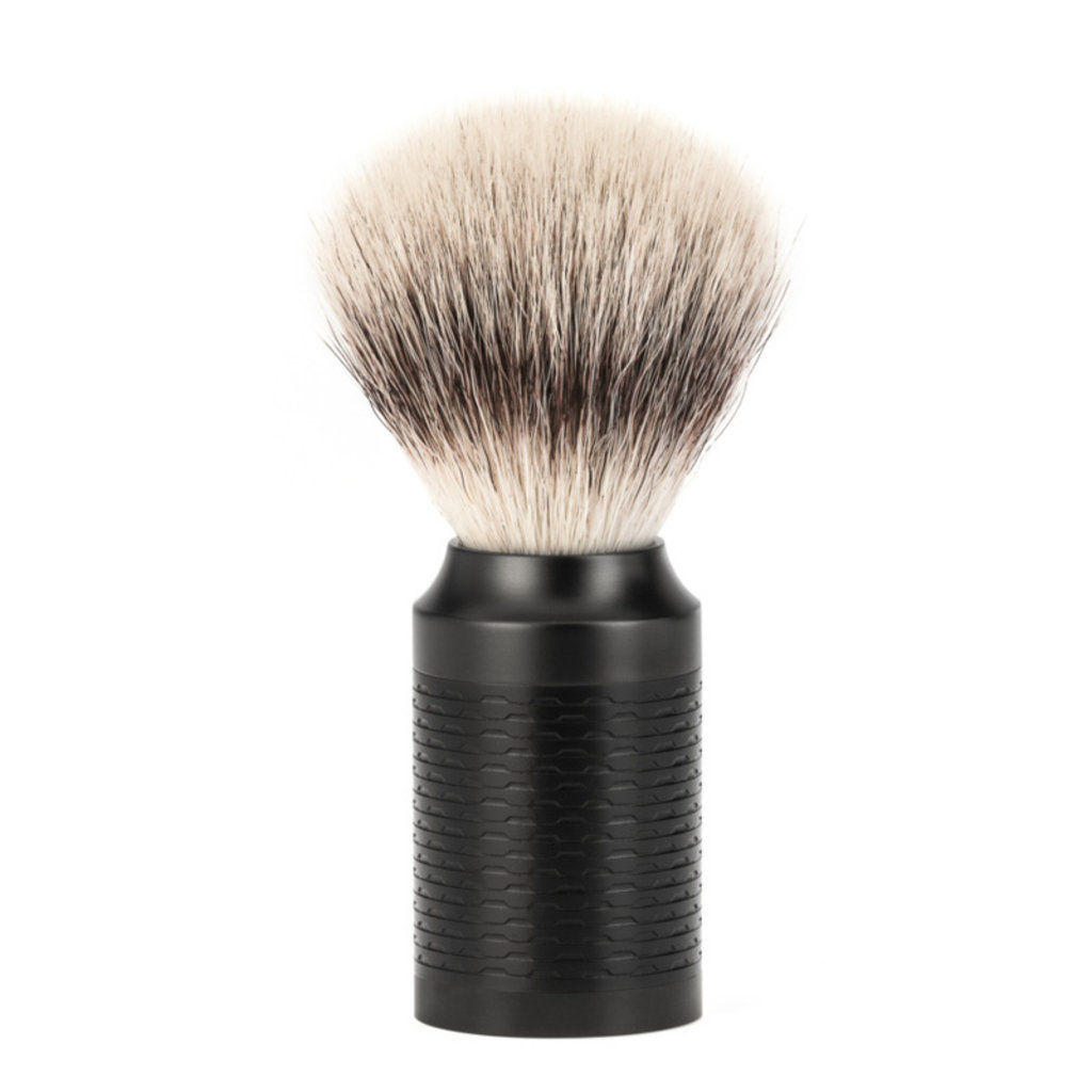 Shaving Brush Silvertip Fibre® - Black/ DLC coating