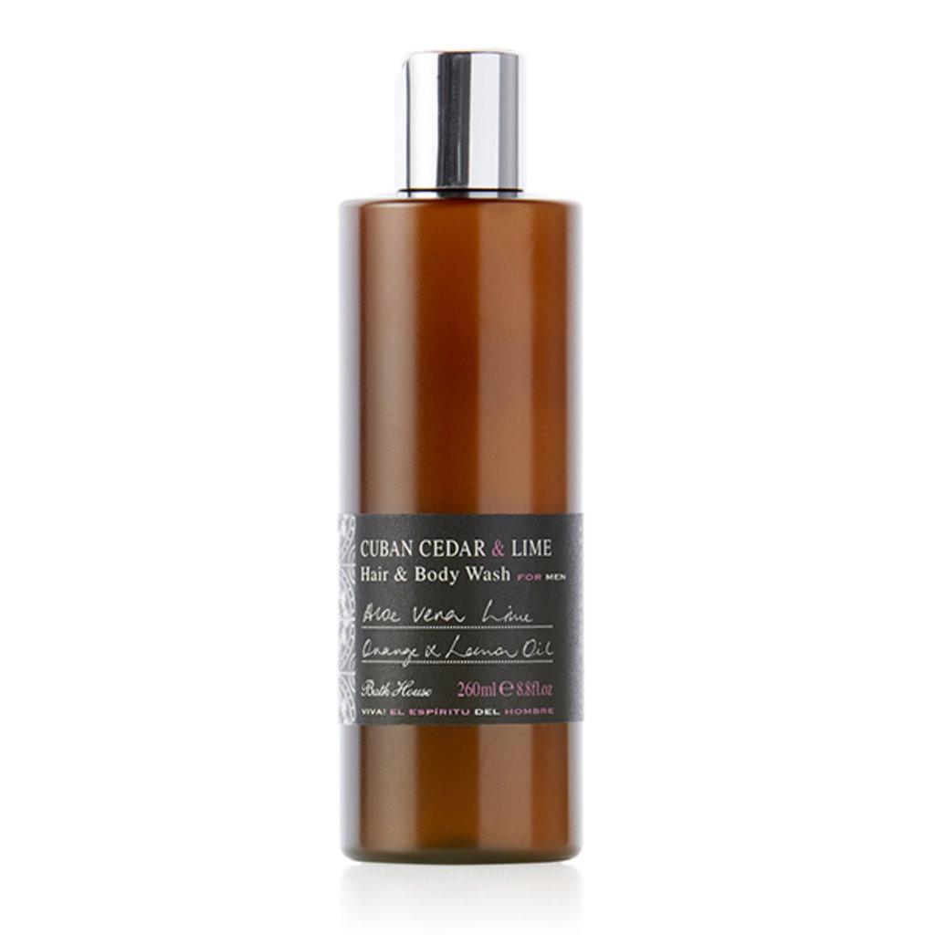 Hair & Body Wash 260ml Cuban Cedar & Lime
