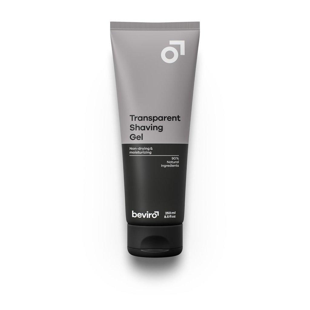 Beviro Transparent Shaving Gel - 250 ml