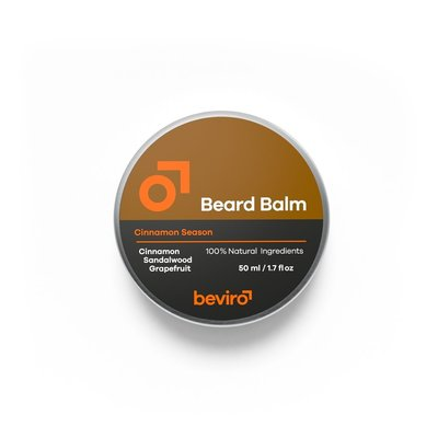 Beviro BV111 - Baardbalsem - Cinnamon Season - 50 ml