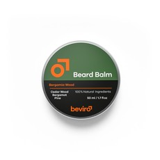 Beviro Beard Balm - Bergamia Wood - 50 ml