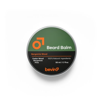 Beviro BV109 - Baardbalsem - Bergamia Wood - 50 ml