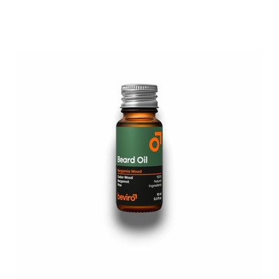 Beviro BV100 - Baardolie - Bergamia Wood - 10 ml