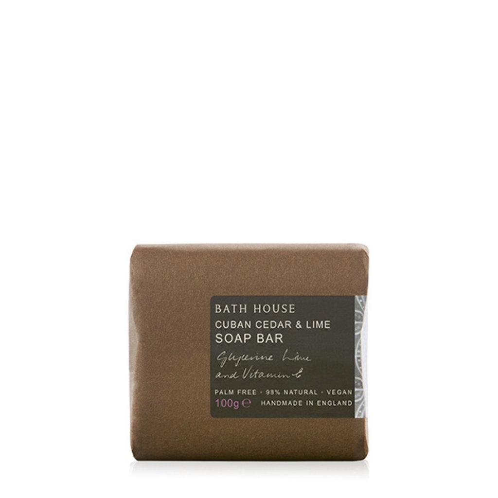 Bath Soap 100g Cuban Cedar & Lime
