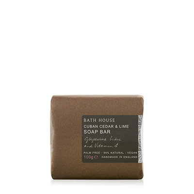 MH6 - Bath Soap 100g Cuban Cedar & Lime