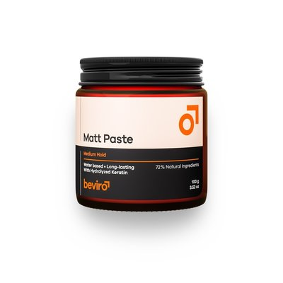 Beviro BV306 - Matt Paste Medium Hold 100 g