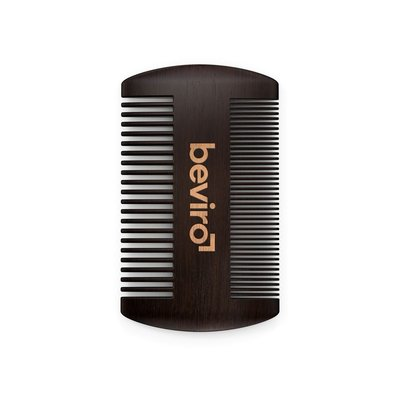 Beviro TO015 - Pear Wood Beard Comb