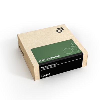 Beviro BV003 - Basic Beard Set - Bergamia Wood