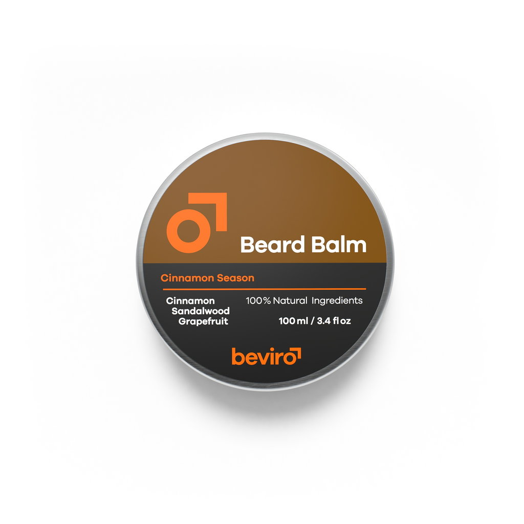 Beviro Beard Balm - Cinnamon Season - 100 ml - BARBERS ONLY