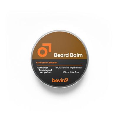 Beviro BV112 - Baardbalsem - Cinnamon Season - 100 ml - BARBERS ONLY