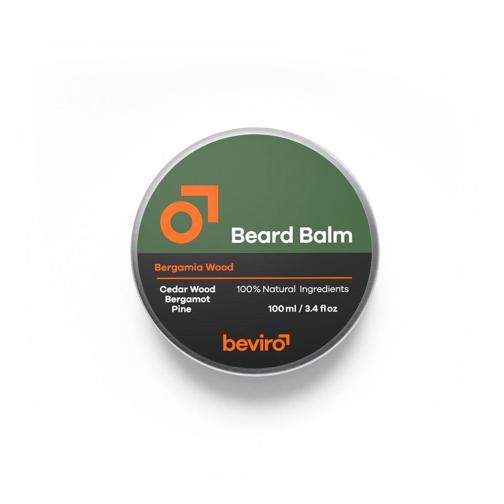 Beviro Beard Balm - Bergamia Wood - 100 ml - BARBERS ONLY