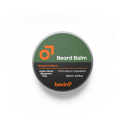 Beviro BV110 - Beard Balm - Bergamia Wood - 100 ml - BARBERS ONLY