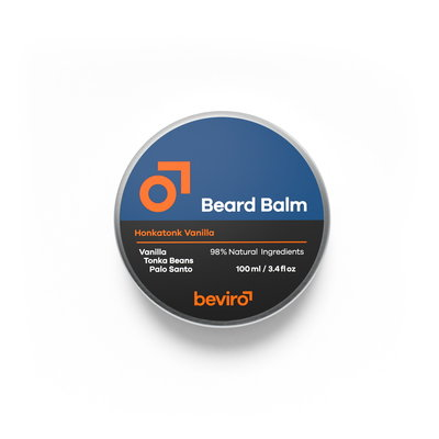 Beviro BV114 - Baardbalsem - Honkatonk Vanilla - 100 ml