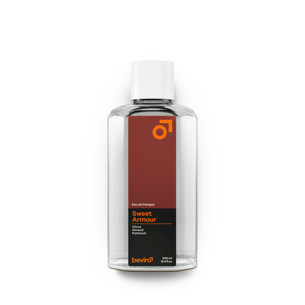 Beviro Cologne  - Sweet Armour - 500 ml - BARBERS ONLY