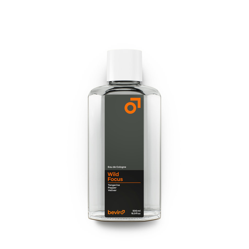 Beviro Cologne - Wild Focus - 500 ml - BARBERS ONLY