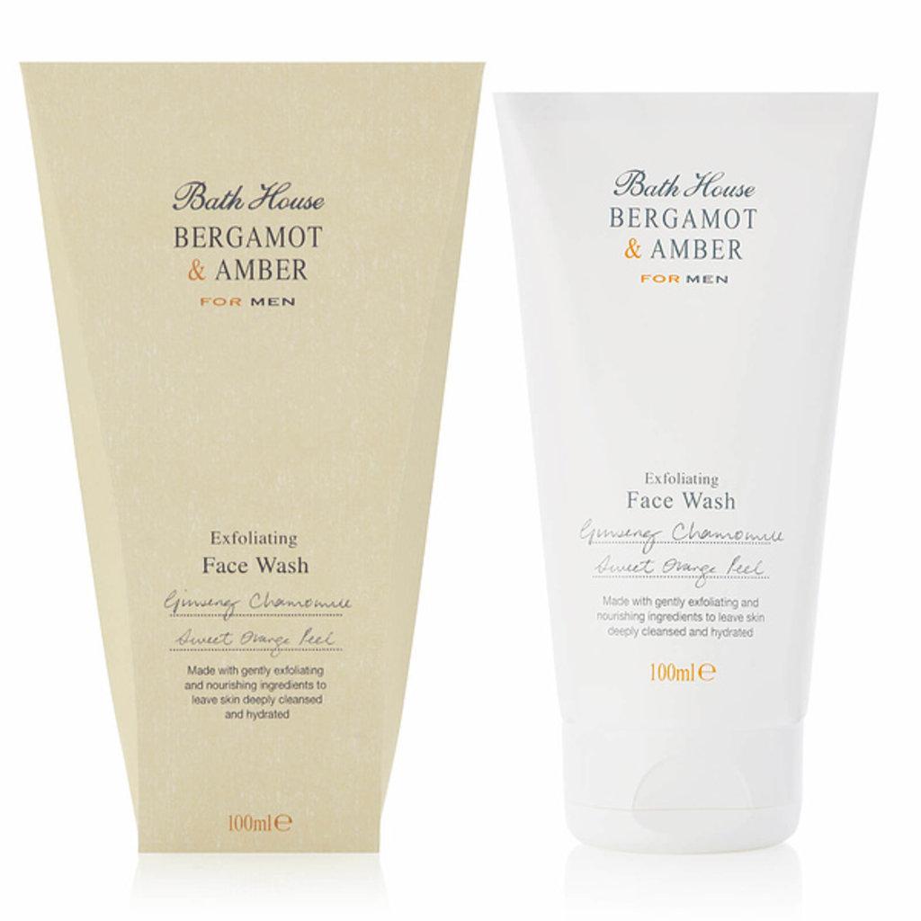Face Wash 100ml Bergamot & Amber
