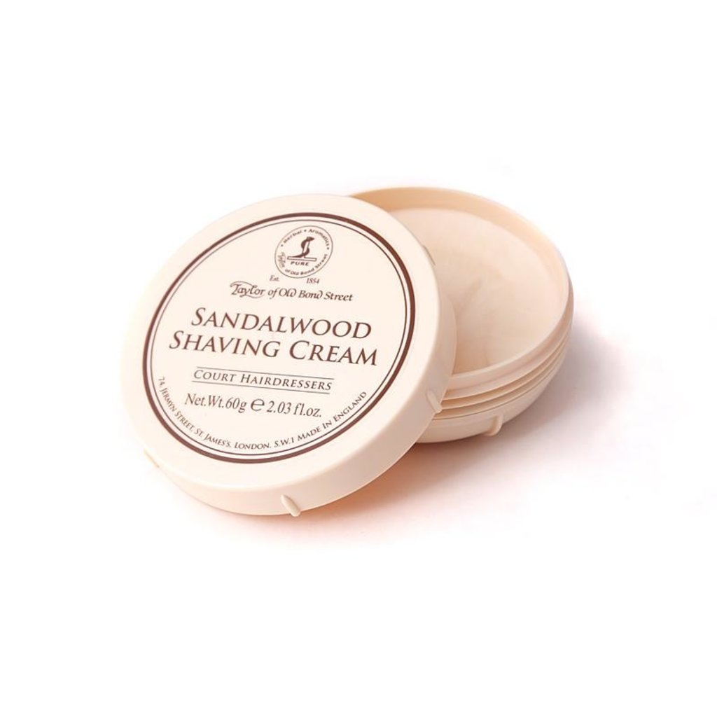 Bowl shaving cream 60ml Sandalwood