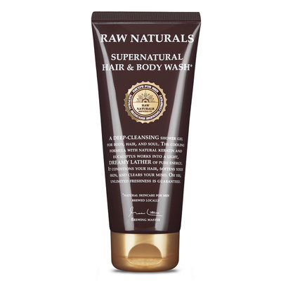 RAW003 - Supernatural Hair & Body Wash 200ml